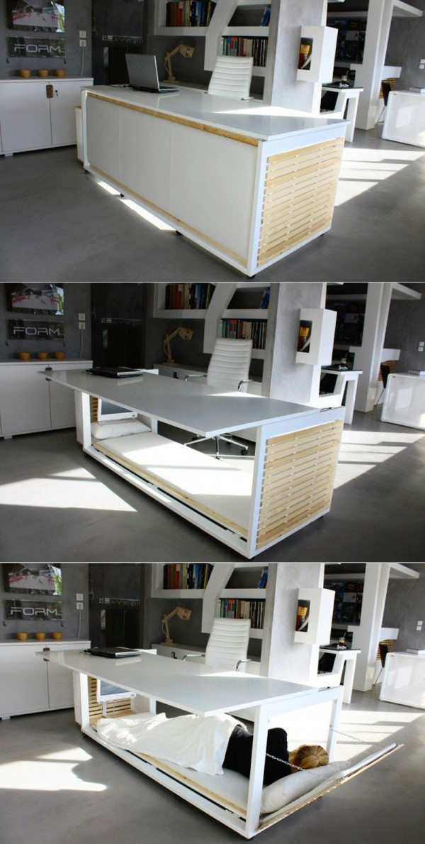 28 Work desk bed