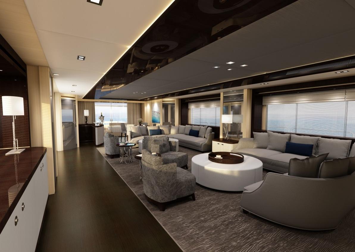 Luxury Yacht Interior Design
