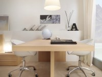 Dual user desk | Interior Design Ideas.
