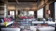 colorful exuberant interior design