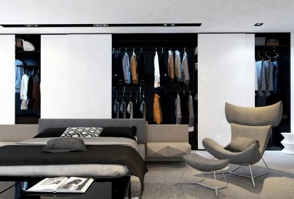 Contemporary Closets Interior Design Ideas