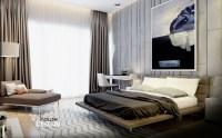 Masculine bedroom design | Interior Design Ideas.