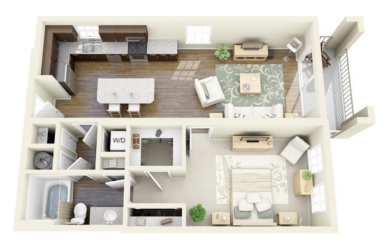 U Shaped Kitchen Layout Plans