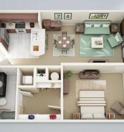 wiring diagram 1 bedroom apartment [ 2000 x 1500 Pixel ]