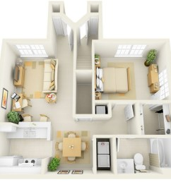 this one bedroom suite may look compact but it offers enough space for a work [ 948 x 850 Pixel ]