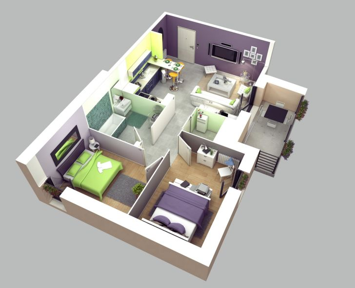 Interior Design: Interior Design Room Layout Ideas. Two Bedroom House Plan Wallpaper Interior Design Room Layout Ideas For Desktop Hd Pics Apartmenthouse