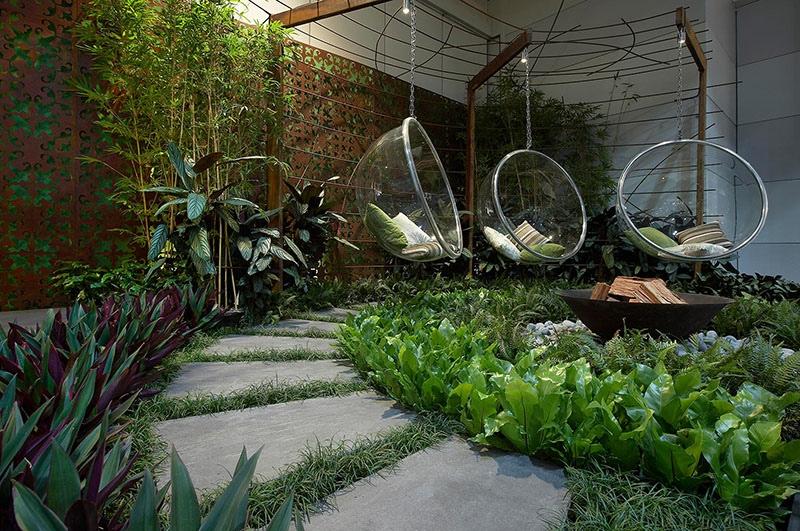 swing chair sydney outdoor covers walmart modern landscape design ideas from rollingstone landscapes