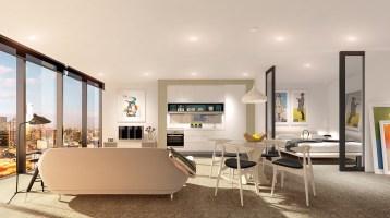 chic studio apartment   Interior Design Ideas.