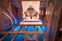 Glass Bottom Hotel Room