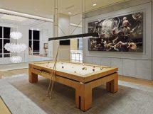 Modern Pool Table Room