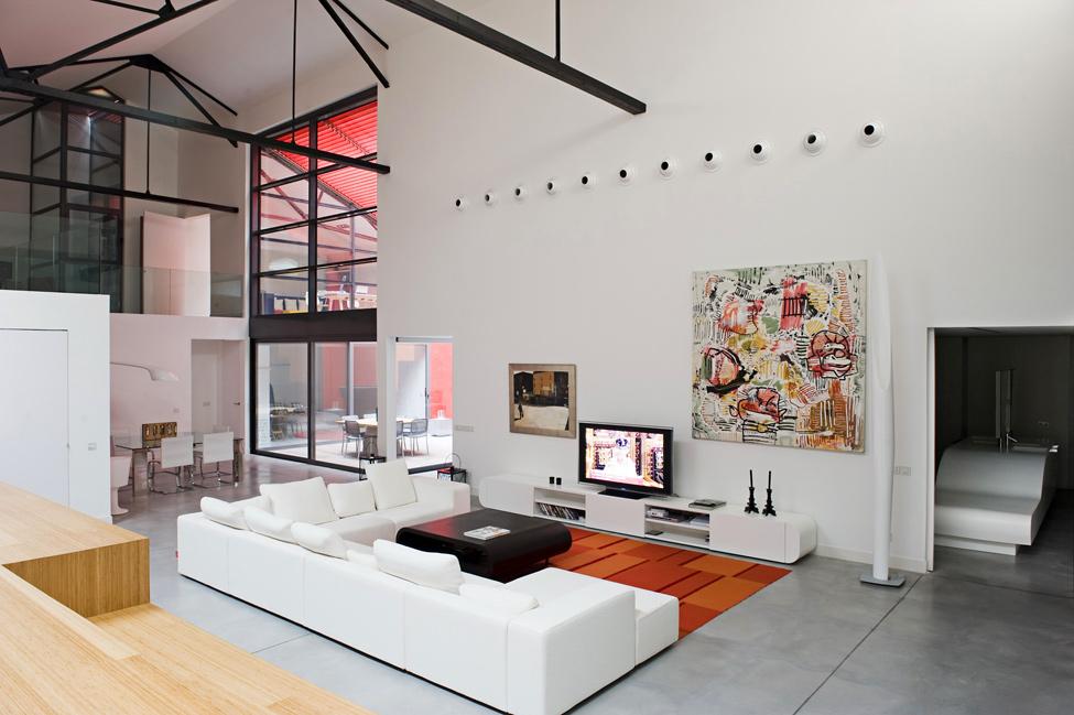 Teresa Sapey Loft LivingOverall  Interior Design Ideas