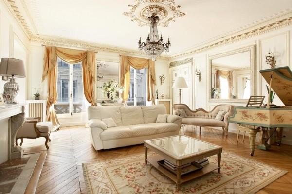 French Interior Design The Beautiful Parisian Style
