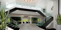 double-staircase   Interior Design Ideas.