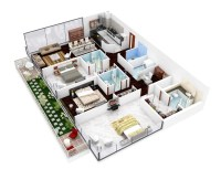 efficient 3 bedroom floor plans | Interior Design Ideas.