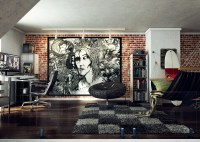 loft wall art work | Interior Design Ideas.