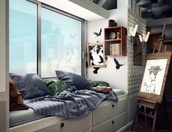 loft window seating