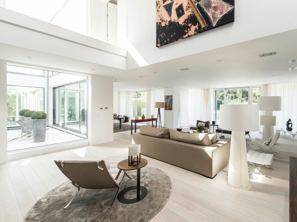 Stunning Belgian Family Home with FloortoCeiling Windows