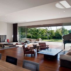 Modern Living Room With Dark Wood Floors Interior Design For Rooms Fireplaces More Tasteful Villas