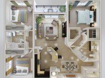 3 Bedroom House Plans Ideas