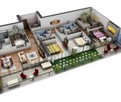 3 bedroom guest house plans