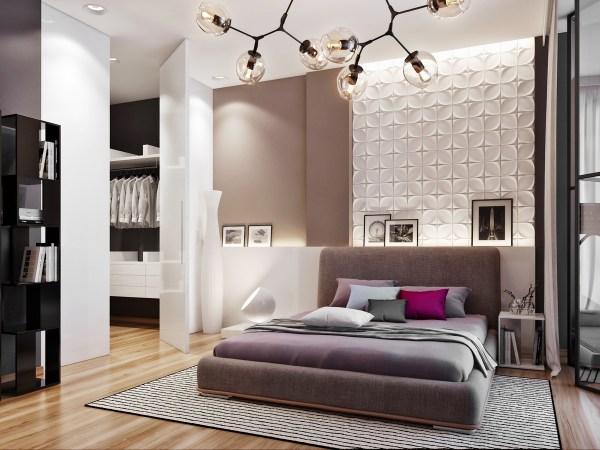 unique bedroom room decorating ideas Ukrainian Design Team Creates Interiors of Luxurious Comfort