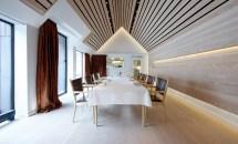Wood Slat Ceiling Designs