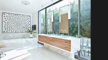 Mid Century Modern Small Bathroom Design Ideas