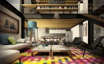 Urban Living Room Design