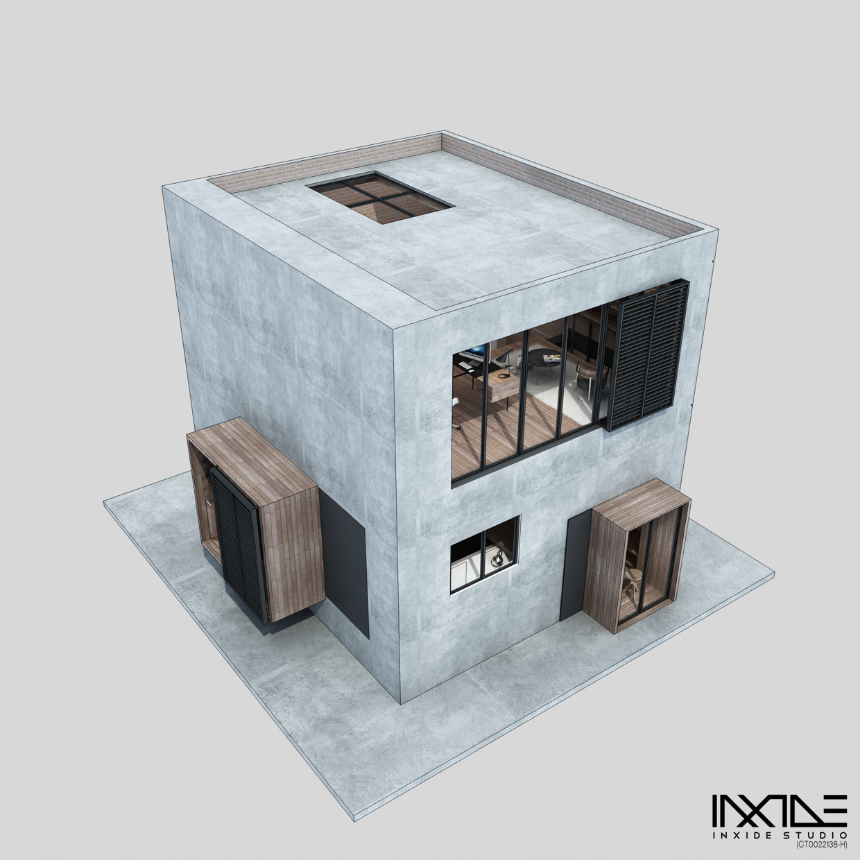 Haus Designer Compact Modern House Made From Affordable Materials