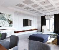 cool-marble-wall-treatment | Interior Design Ideas.