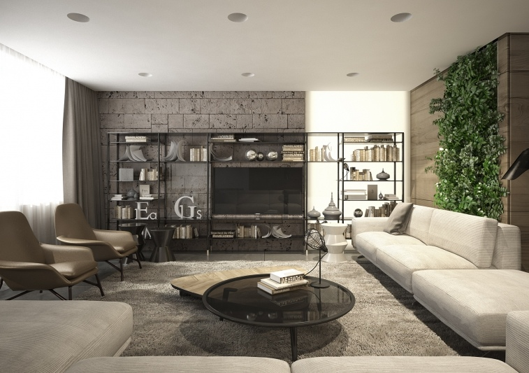 Interior Design Close To Nature Rich Wood Themes And