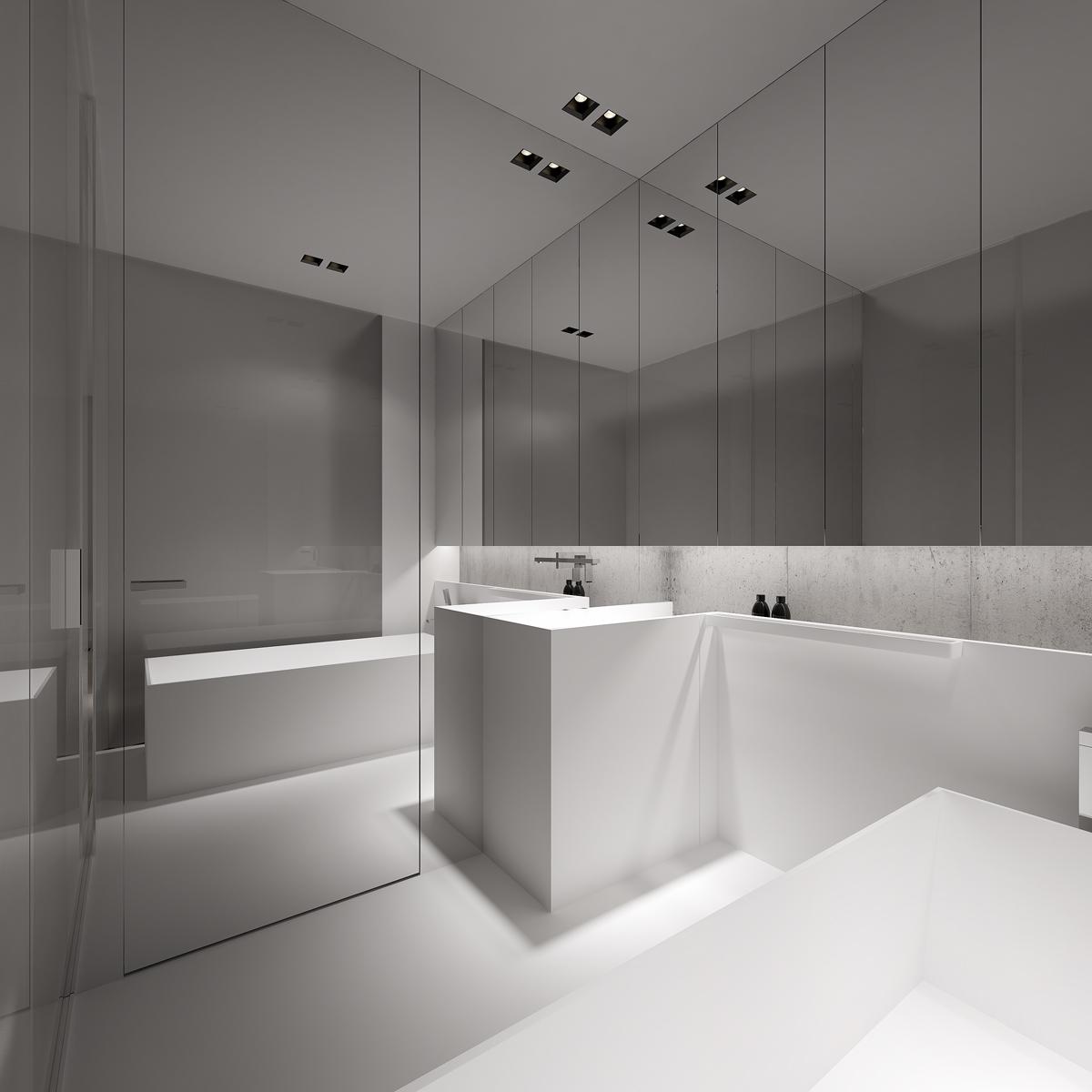 Stark Sharp  Minimalistic Interiors By Oporski Architektura