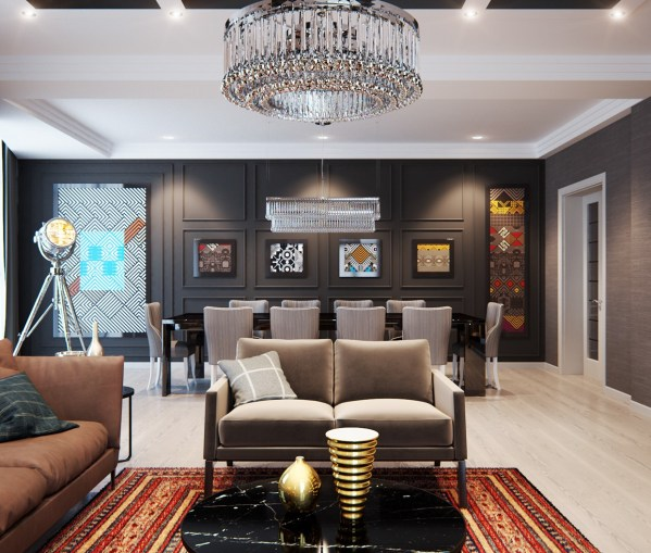Stylish Apartment With Classic Design Features