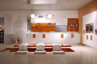 orange-kitchen-accents | Interior Design Ideas.