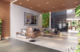 Interior Design Close To Nature Rich Wood Themes And ...