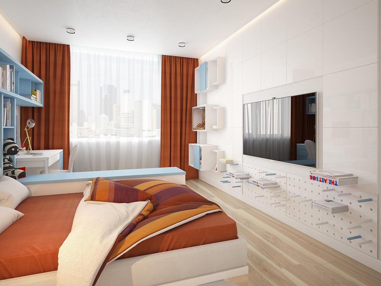 Rust Colored Curtains Interior Design Ideas