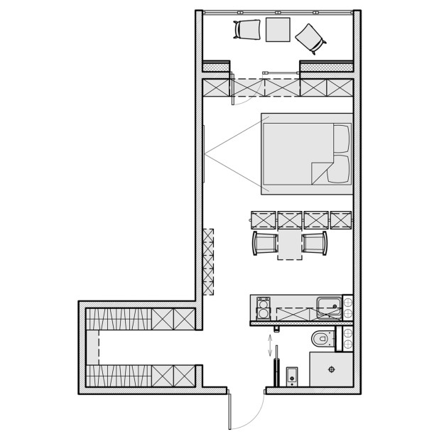 500 Sq Ft House Plans 2 Bedroom Indian