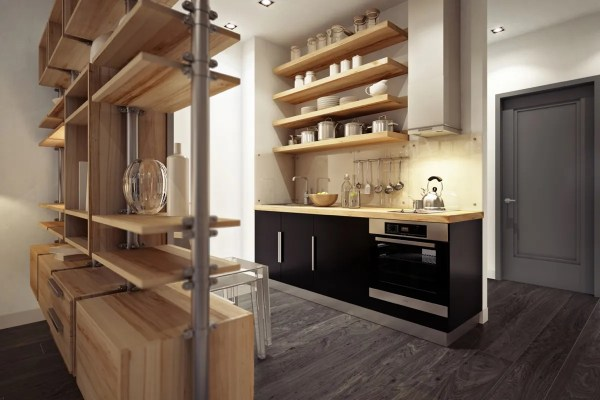 urban design house kitchen 3 Beautiful Homes Under 500 Square Feet