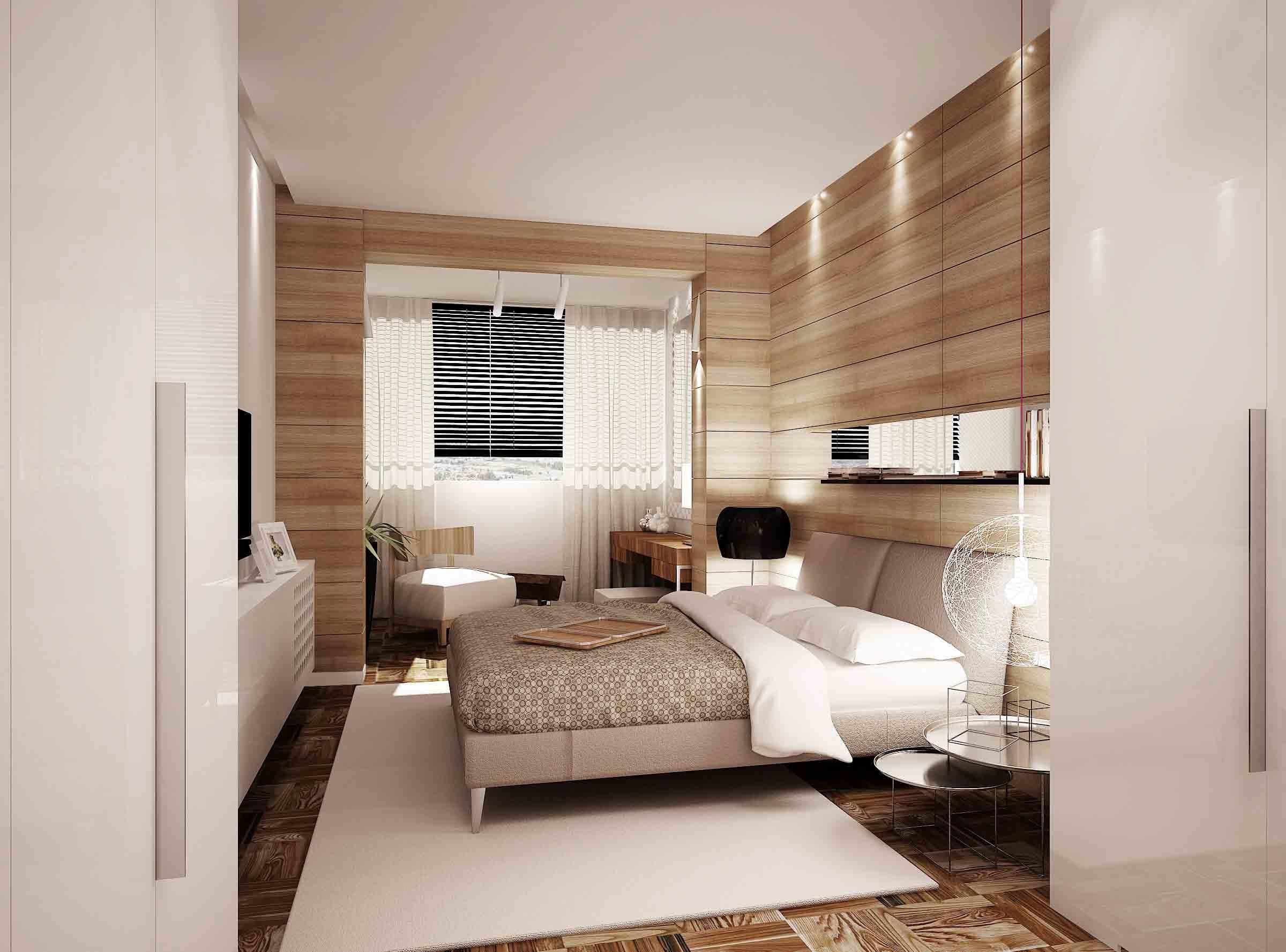 woodpaneledbedroom  Interior Design Ideas