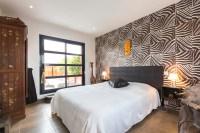 zebra-wall-treatment | Interior Design Ideas.