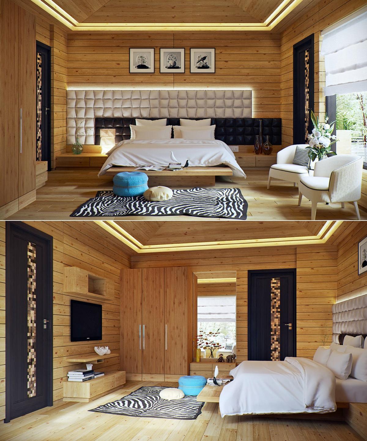 Cozy Cottage Bedroom Interior Design Ideas