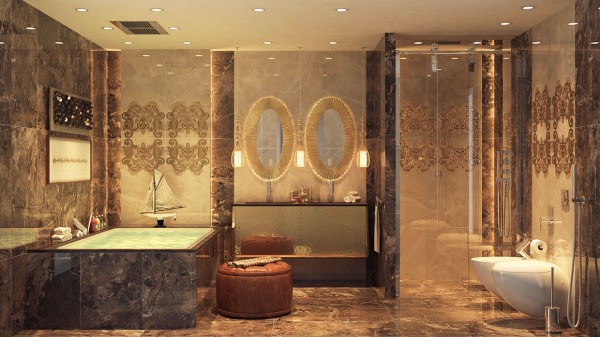 contemporary bathrooms gallery