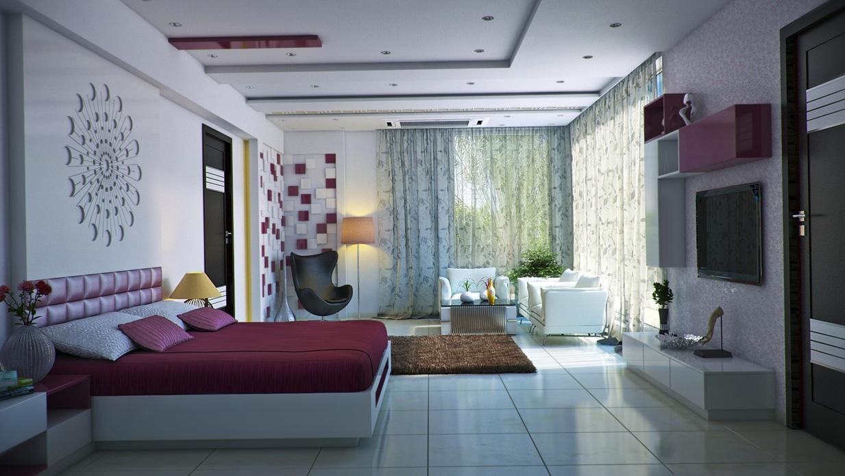 Salle De Bain Moderne 7M2 bedroom wall textures ideas inspiration - zimmeridee