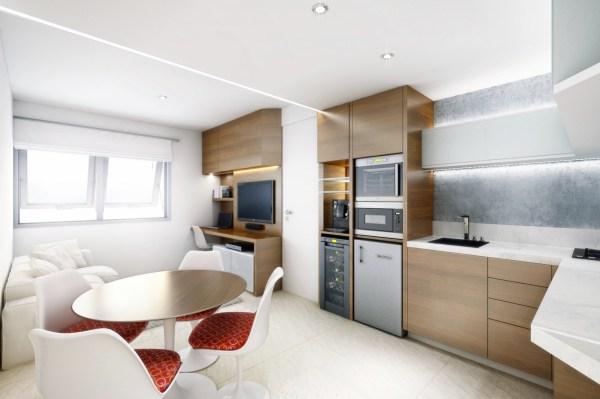 Small House Open Plan Interior Design