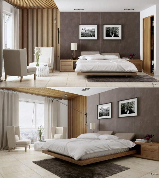 modern romantic bedroom ideas Stylish Bedroom Designs with Beautiful Creative Details