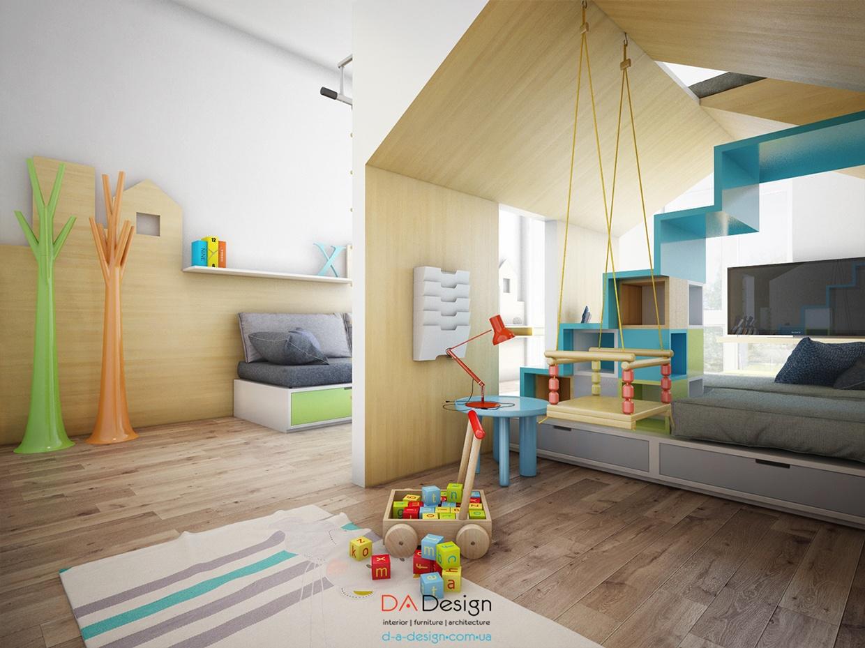 Sleek-kids-room-design