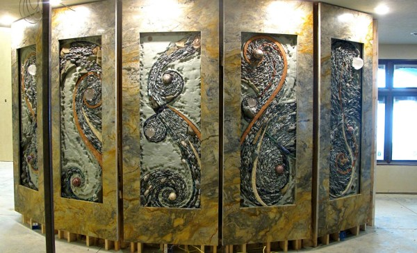 Breathtaking Stone Mosaics Turn Nature Art