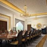 Formal Moroccan Dining Room Interior Design Ideas