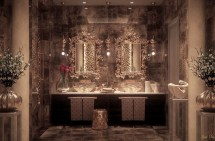 Luxury Bathroom Lighting Design Ideas