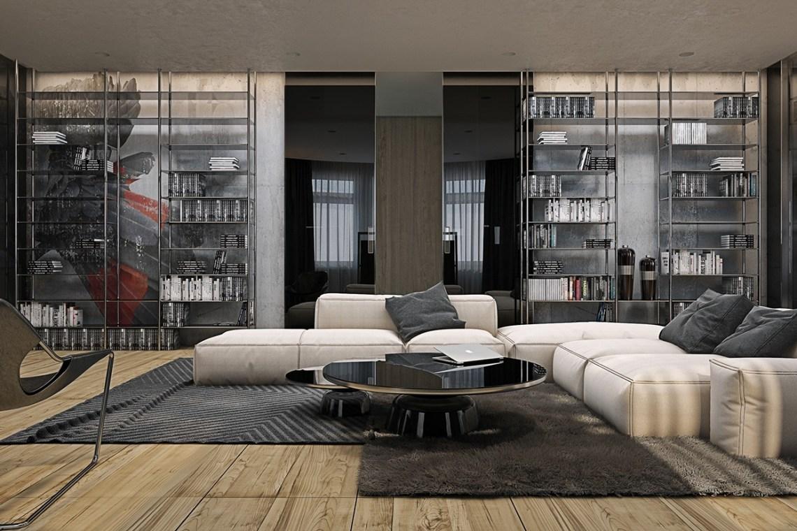 | modern-industrial-designInterior Design Ideas.